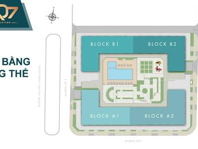 Q7 boulevard liền kề phú mỹ hưng giá chỉ 2 tỷ/căn nhận nhà ngay 1