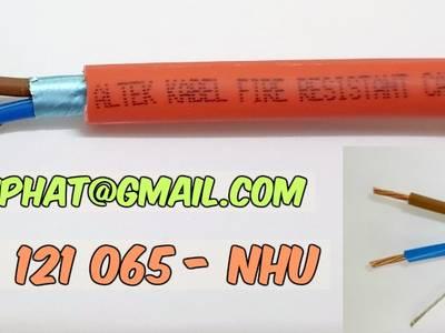 Nhập khẩu trực tiếp cáp chống cháy hiệu altek kabel 6