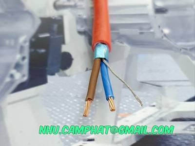 Nhập khẩu trực tiếp cáp chống cháy hiệu altek kabel 8