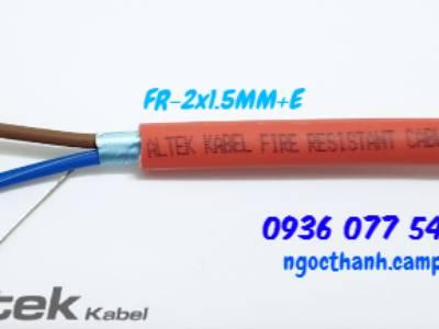 Cáp chống cháy 2x1.5mm - Phân phối cáp tín hiệu chống cháy Altek Kabel 0