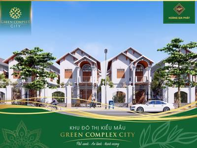 Nhận đặt chỗ GD1 dự án Green Complex City ngay trung tâm 5