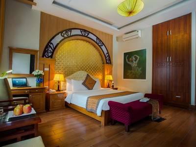 Đặt phòng khách sạn giá rẻ gần khu phố cổ hà nội - vongxua hotel 0