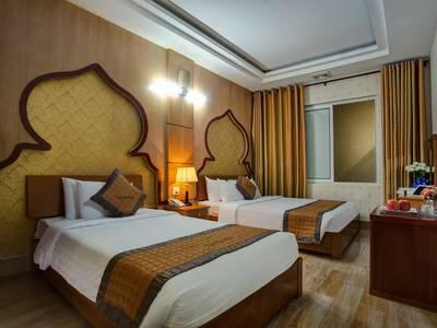 Đặt phòng khách sạn giá rẻ gần khu phố cổ hà nội - vongxua hotel 3