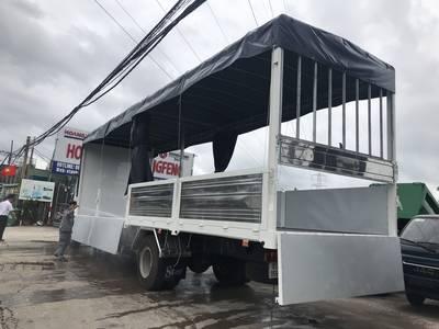 Xe tải trung quốc thùng dài - Xe tải chở bia thùng dài - Xe tải chở bia thùng dài 4