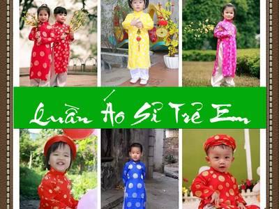 Chuyên sàn xuất-cung cấp sỉ áo dài truyền thống, áo dài cách tân Trẻ em 13