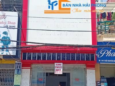 Cho thuê tầng 1 nhà mặt đường số 34C Trần Nguyên Hãn, Lê Chân, Hải Phòng 0