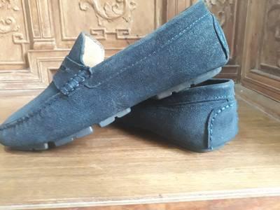 Bán giày lười da lộn hiệu BENTONI ! 2