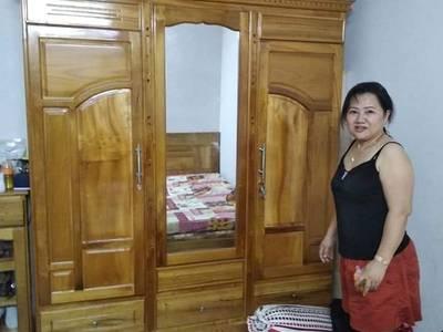 Bán tủ quần áo gỗ dổi cao cấp nguyên mới 0