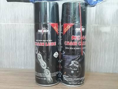 Combo sản phẩm rửa sên Thunder   bôi trơn sên Thunder   bàn chải 3D 2