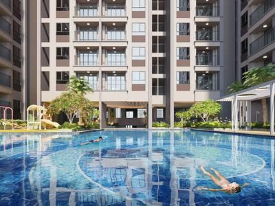 Bung suất ngoại giao những căn view hồ bơi đẹp nhất,khu căn hộ MT Phạm Văn Đồng 1