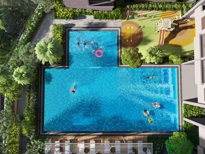 Bung suất ngoại giao những căn view hồ bơi đẹp nhất,khu căn hộ MT Phạm Văn Đồng 3