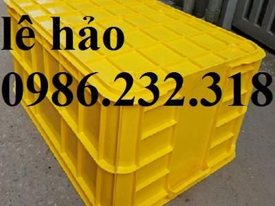 Thùng nhựa b5, thung b6, hộp nhựa b7, hộp nhựa b8, thùng nhựa đặc, thùng nhựa đựng hàng 1