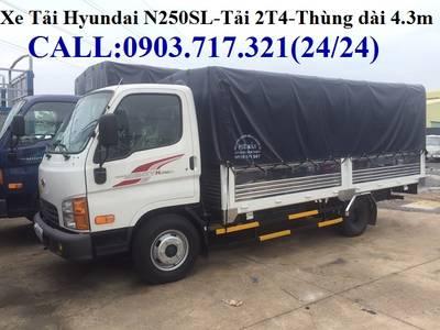 Bán xe tải Hyundai New Mighty N250SL. xe tải Hyundai N250SL. Xe tải Hyundai 2T4 3