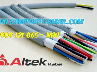 Sản phẩm cáp điều khiển nhiều lõi altek kabel 0