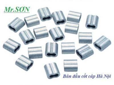 Bán khuyên lót cáp inox D6-D16,đầu nhôm kẹp cáp 1-12 ly,cáp thép bọc nhựa các màu,cáp inox các loại. 2