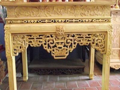 Cơ sở hùng vũ chuyên sơn son thếp vàng ,đồ thờ tượng phật 1