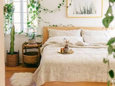 Thiết kế và thi công nội thất phòng ngủ Âu Mỹ 2