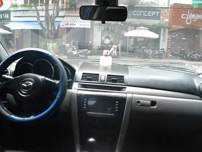 Bán xe Mazda 3, đời 2005, xe nhập khẩu, số tự động, màu xanh dương 3