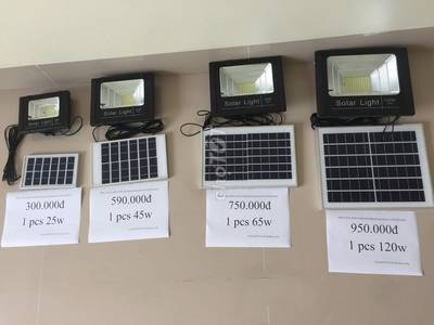 Đèn led tiết kiệm điện năng lượng mặt trời 0