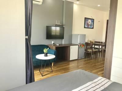 Cho thuê căn hộ Studio gia đình 50m2. Đầy đủ nội thất. 5