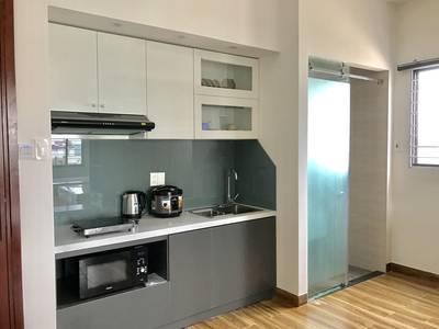 Cho thuê căn hộ Studio gia đình 50m2. Đầy đủ nội thất. 11
