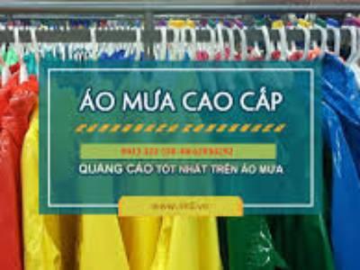 Các loại áo mưa in logo làm quà tặng tại Quảng Nam 5