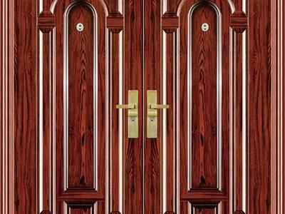 Cửa thép chống cháy, cửa thép vân gỗ ankovina 1