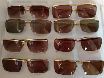 Có 8 cái kính cổ mạ vàng bọc vàng có đầy đủ các thương hiệu nổi tiếng trên toàn thế giới..vv 3