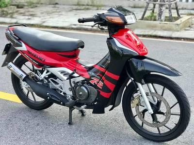 Bán Suzuki Satria 2000 Đỏ đen. Mới keng. Giá 24 triệu 0