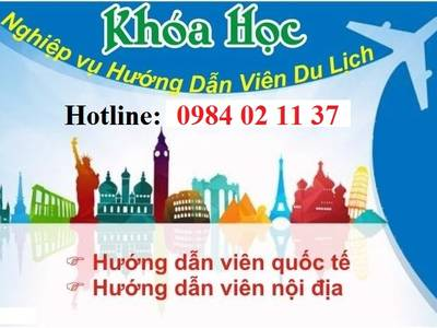 Học chứng chỉ nghiệp vụ hướng dẫn viên du lịch tại HCM, Đà Nẵng, Hà Nội 0