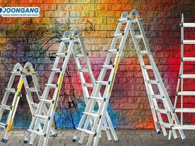 Thang nhôm Joongang Hàn quốc đồng hành cùng thị trường thang nhôm Việt nam 14