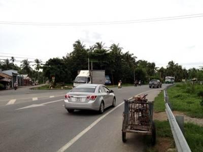 Bán 4 lô đất mặt tiền đường tỉnh lộ 8,củ chi,giá 600tr/180m2 0