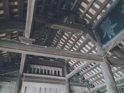 Cần bán khung ngôi nhà gỗ lim cổ 5 gian có niên đại 200 năm do cha ông để lại 0