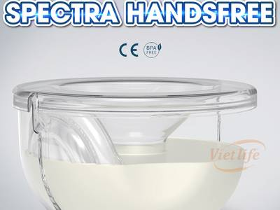 Bộ cup hút sữa rảnh tay Spectra 1