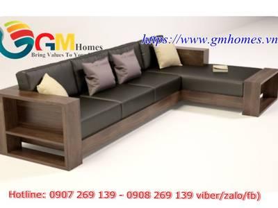 20 mẫu sofa gỗ đẹp nhất cho phòng khách năm 2019. Sofa gỗ giá rẻ tận gốc 3