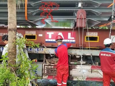 Đóng thùng gỗ máy móc xuất khẩu tại KCN VSIP II   Bình Dương 0