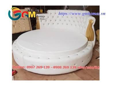Giường tròn cao cấp chính hãng GMHOMES 5