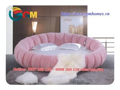 Giường tròn cao cấp chính hãng GMHOMES 9