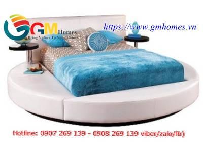 Giường tròn cao cấp chính hãng GMHOMES 19