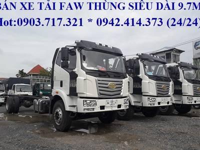 Xe tải Faw 7T25. Xe tải Faw 7T25   7t25   7250Kg nhập khẩu 2019 Euro 4 thùng dài 9m7 3