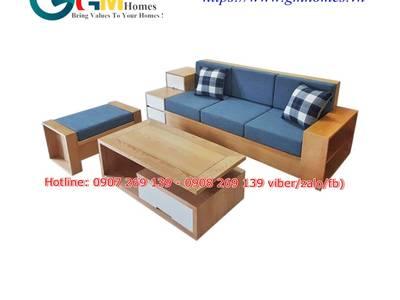 Sofa phòng khách đẹp   sofa phòng khách cao cấp giá tại xưởng sản xuất GMHOMES 18
