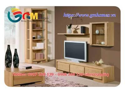 Mẫu kệ tủ tivi đẹp sang trọng cho phòng khách chung cư 15