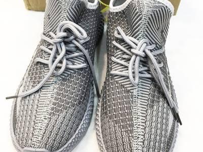 Giày sneaker nam xám bạc bên hông thêu chữ số Mã 350V2 X 0