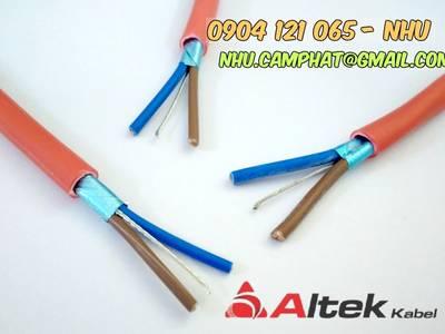 Đại lý cáp chống cháy vỏ objc lszh hiệu altek kabel 5