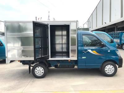 Bán xe THACO TOWNER 990 thùng dài 2.5m miễn phí 100 Phí Trước Bạ hỗ trợ trả góp 70 0
