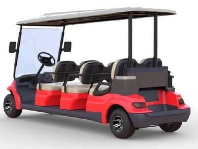 Xe điện du lịch cao cấp LVTONG 6 chỗ A627 1