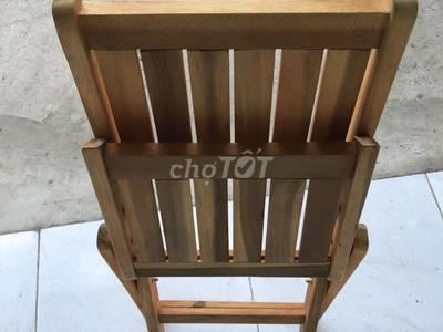 Ghế gỗ xếp dùng cho hàng quán 0