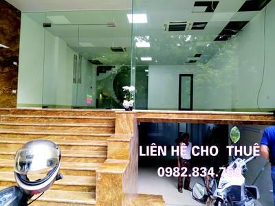 Cho thuê nhà mặt phố kinh doanh Spa,Showroom,Văn phòng đại diện..MT 6,8m,90m2X4 sàn tại Thanh Xuân 0