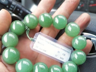 Chuỗi hạt ngọc đông linh 17 lyvòng đeo tay ngọc đông linh chuỗi hạt 17...