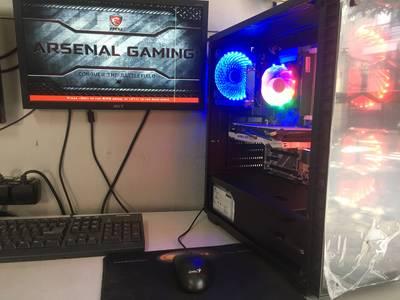 Case game MSI Z370, I5-9400F, Vga Rx570 8GB 5